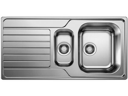 Dřez Blanco DINAS 6 S nerez kartáčovaný  + Vůně do bytu Areon 85ml