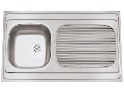Kuchyňský nerezový dřez Sinks CLP-A 1000 M matný