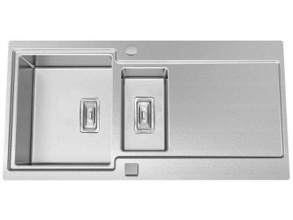 Kuchyňský nerezový dřez Sinks EVO 1000.1 V  + Vůně do bytu Areon 85ml