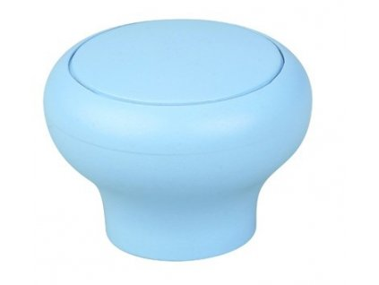 nabytkova knopka funga modra plastova