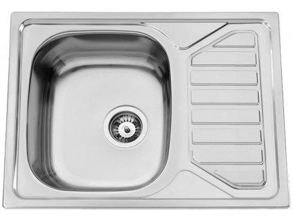 Kuchyňský nerezový dřez Sinks OKIO 650 V leštěný