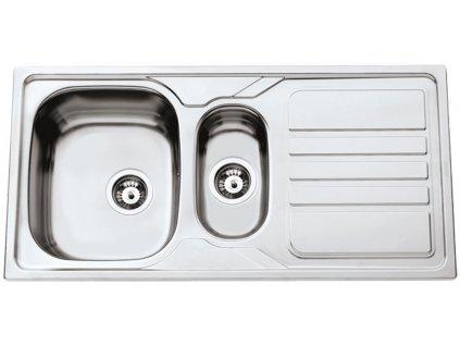 Kuchyňský nerezový dřez Sinks OKIO 1000.1 V