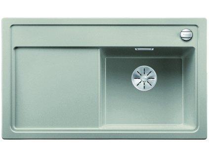 Granitový dřez Blanco ZENAR 45 S perlově šedá s excentrem dřez vpravo
