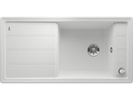 Granitový dřez Blanco FARON XL 6 S bílá s excentrem