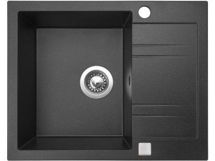 Granitový dřez Sinks LINEA 600 Granblack  + Sinks čistící pasta