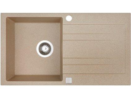 Granitový dřez Sinks RAPID 780 Beige