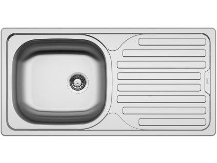 Kuchyňský nerezový dřez Sinks CLASSIC 860 V matný