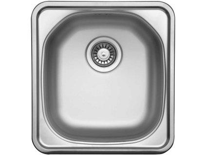 Kuchyňský nerezový dřez Sinks COMPACT 435 V matný