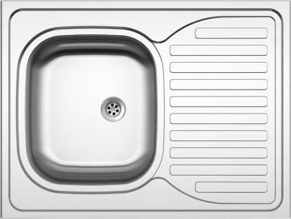 Kuchyňský nerezový dřez Sinks CLP-D 800 M matný