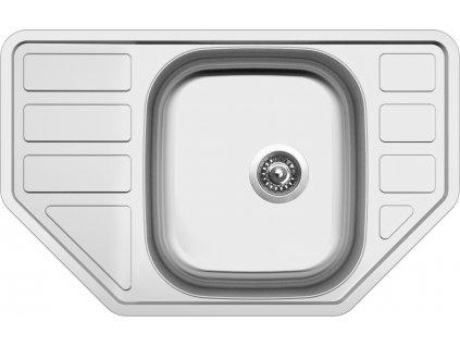 Kuchyňský nerezový dřez Sinks CORNO 770 V matný