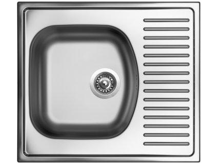 """Kuchyňský nerezový dřez Sinks SHORT 580 V 3 ½"""""""