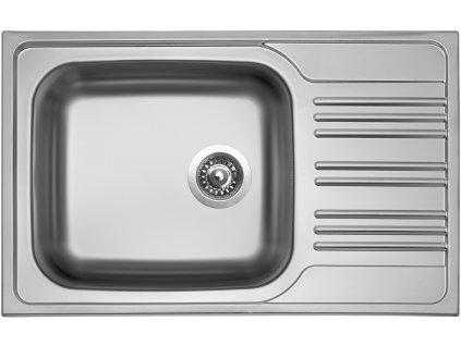 Kuchyňský nerezový dřez Sinks STAR 780 XXL V