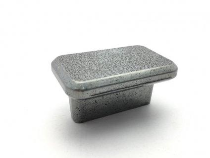nabytkova knopka bones cerna ocel lesk