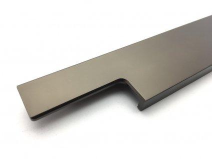 profilova uchytka ramara hneda bronz