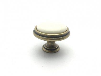 nabytkova knopka margatita i staromosaz porcelan bezovy