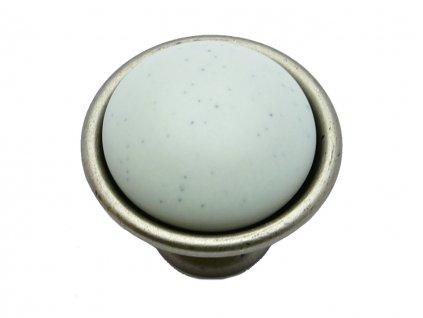 nabytkova knopka lenis l porcelan matny kov