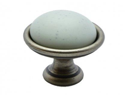 nabytkova knopka lenis starocin porcelan bily 1