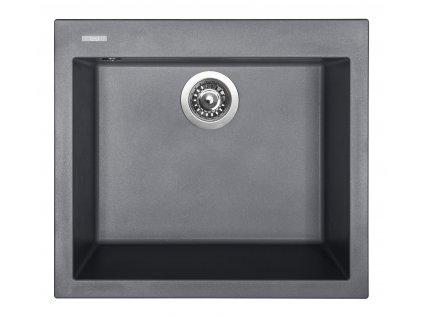 Granitový dřez Sinks CUBE 560 Titanium  + Sinks čistící pasta