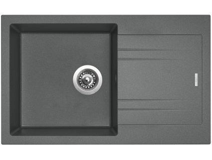 Granitový dřez Sinks LINEA 780 N Titanium