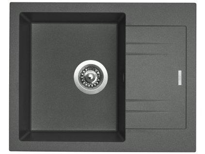 Granitový dřez Sinks LINEA 600 N titanium