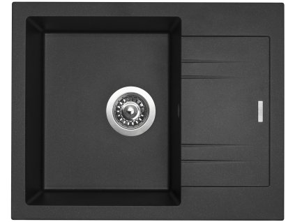 Granitový dřez Sinks LINEA 600 N metalblack