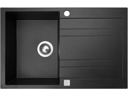 Granitový dřez Sinks GRANDE 800 Metalblack