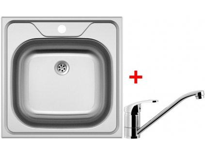 Akční set Sinks CLASSIC 480 M matný + baterie PRONTO