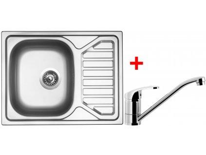 Akční set Sinks OKIO 650 V matný + baterie PRONTO