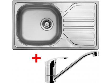 Akční set Sinks COMPACT 760 V matný + baterie PRONTO