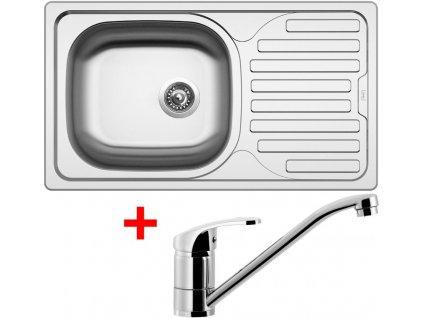 Akční set Sinks CLASSIC 760 V matný + baterie PRONTO