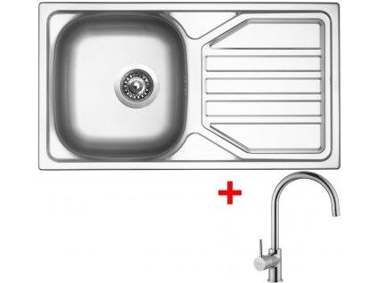 Akční set Sinks OKIO 780 V matný + baterie VITALIA