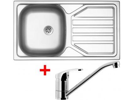 Akční set Sinks OKIO 780 M matný + baterie PRONTO