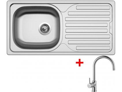 Akční set Sinks CLASSIC 860 V matný + baterie VITALIA