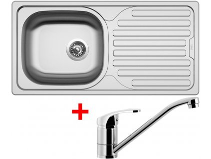 Akční set Sinks CLASSIC 860 V matný + baterie PRONTO