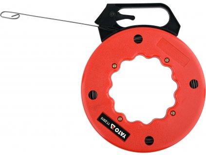 Protahovací pero pro vedení kabelů 15,3 m