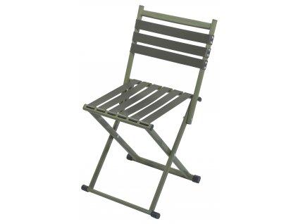 Židle kempingová skládací NATURE s opěradlem