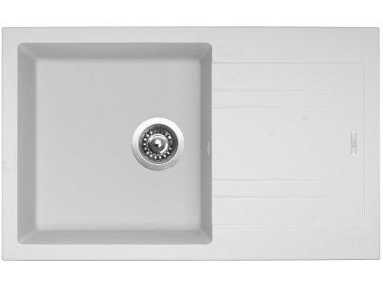 Granitový dřez Sinks LINEA 780 N Milk