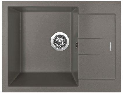 Granitový dřez Sinks AMANDA 650 Truffle  + Sinks čistící pasta