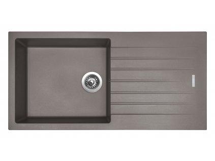 Granitový dřez Sinks PERFECTO 1000 Truffle  + Sinks čistící pasta
