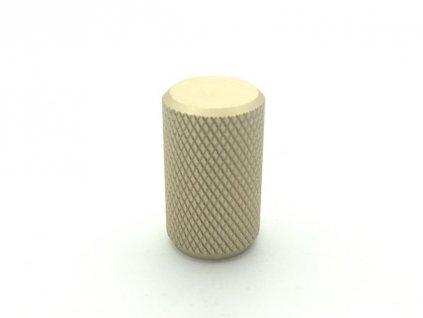 nabytkova knopka mella zlata matna struktura detail 2