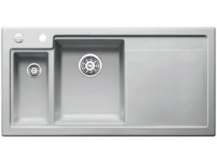 Blanco AXON II 6 S Keramika aluminium dřez vlevo s excentrem