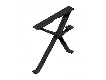 MILADESIGN designová stolová podnož 420mm - černá