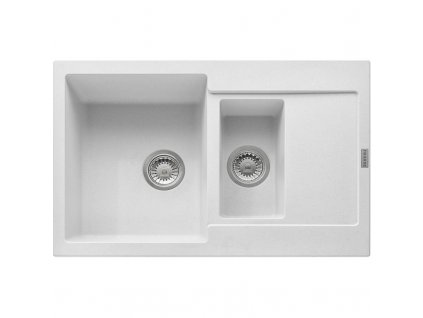 Kuchyňský dřez Franke Maris MRG 651-78 Bílá led  + Vůně do bytu Areon 85ml
