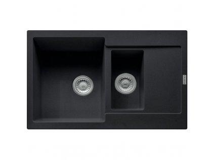 Kuchyňský dřez Franke Maris MRG 651-78 Onyx  + Čistící pasta Franke Twister 125ml
