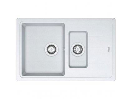 Kuchyňský dřez Franke Basis BFG 651-78 Bílá led  + Vůně do bytu Areon 85ml