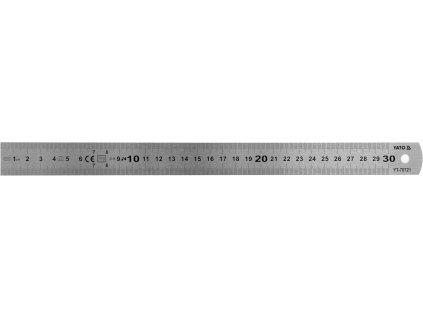 Pružné ocelové pravítko 300 mm