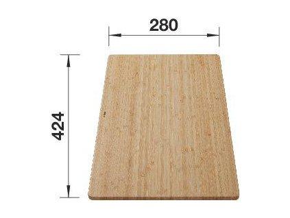 Krájecí deska pro SOLIS, provedení bambus