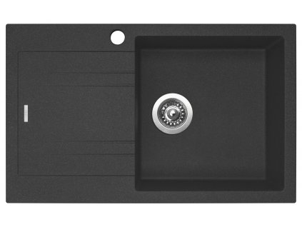 Granitový dřez Sinks LINEA 780 N Granblack pravý