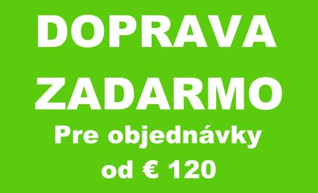 Doprava zadrmo od € 120