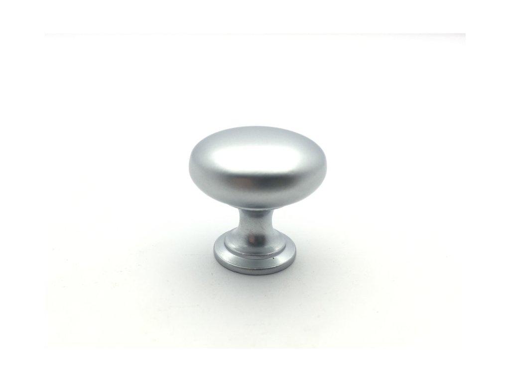 nabytkova knopka jota chrom saten